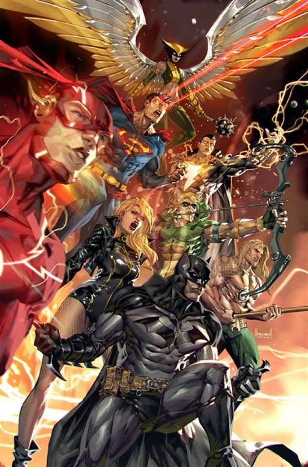 Justice League #60 (Kael Ngu Card Stock Cover)