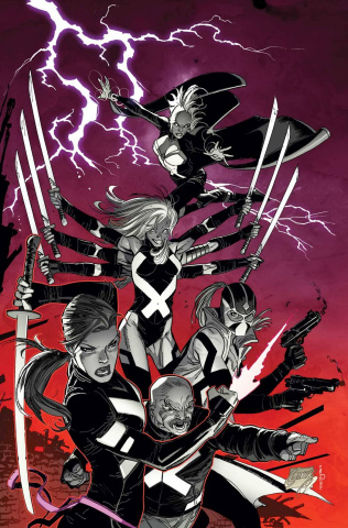 Uncanny X-Force #1 (Garney Cover)