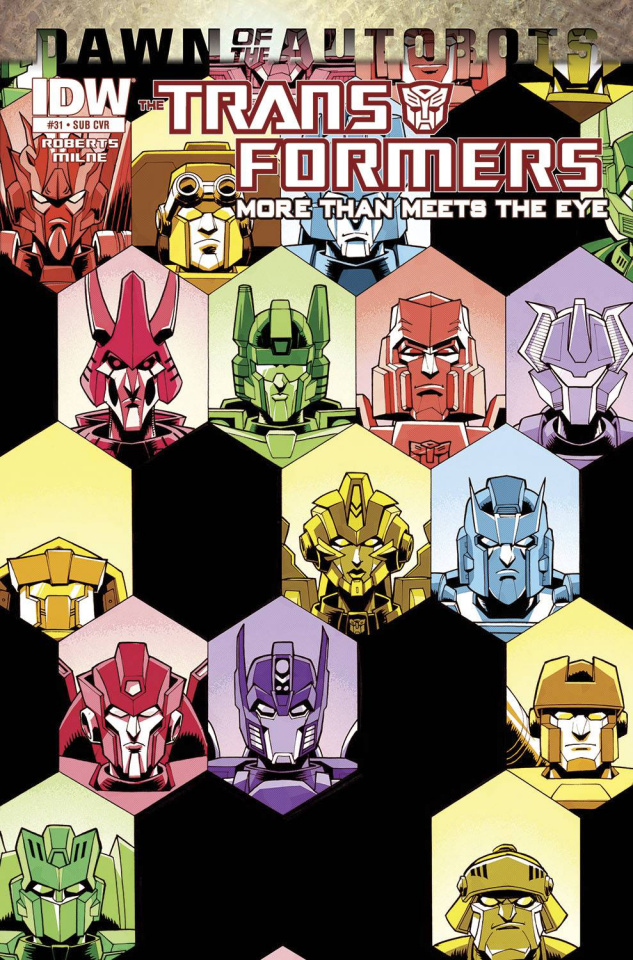 The Transformers: More Than Meets the Eye #31 (Subscription Cover)