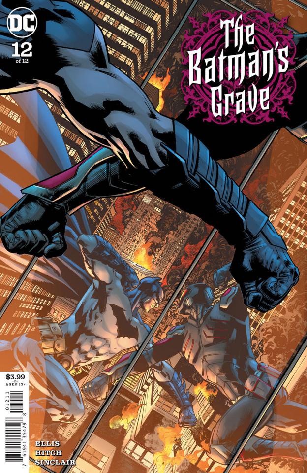 The Batman's Grave #12 (Bryan Hitch Cover)