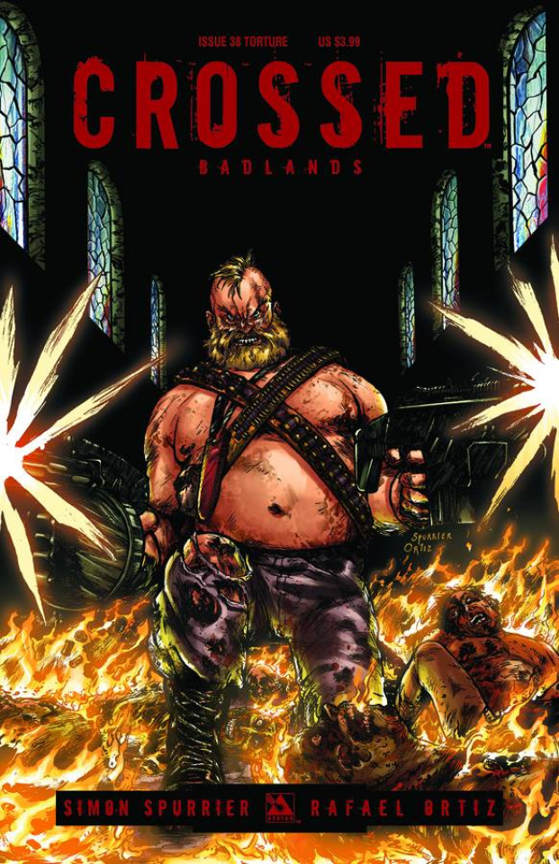Crossed: Badlands #38 (Torture Cover)