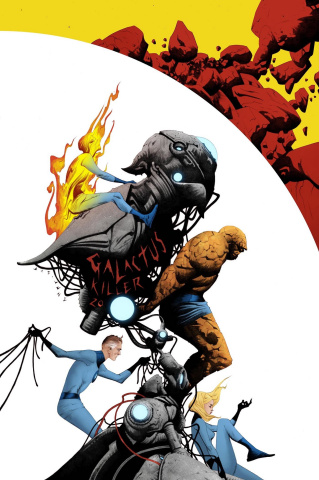 Fantastic Four #3 (Jae Lee MKXX Cover)