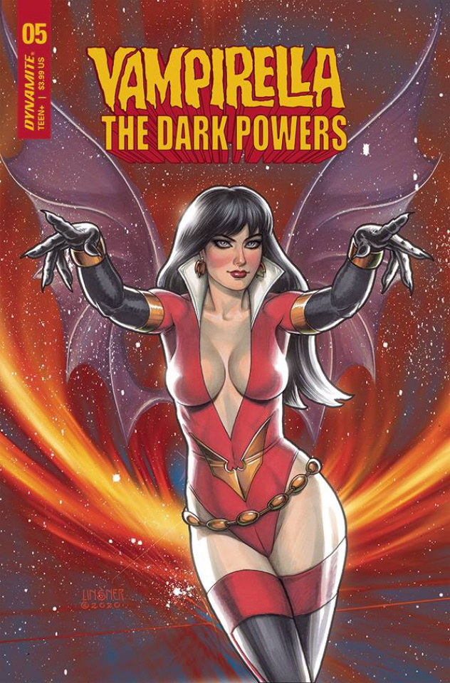 Vampirella: The Dark Powers #5 (Linsner Cover)