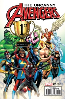 Uncanny Avengers #15 (Pham Champions Cover)
