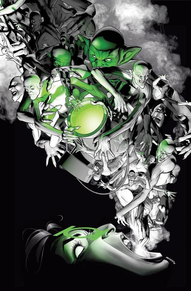 Green Lanterns #44 (Variant Cover)