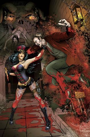 Grimm Fairy Tales: Van Helsing vs. Dracula #3 (Watson Cover)