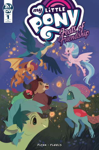 My Little Pony: Feats of Friendship #1 (10 Copy O'Neill Cover)