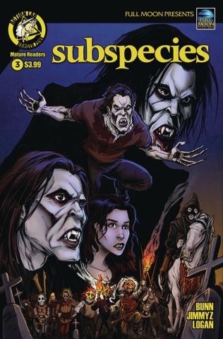 Subspecies #3 (Logan Cover)