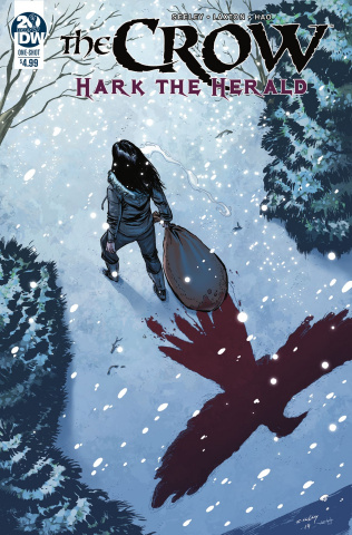 The Crow: Hark the Herald #1 (Seeley Cover)