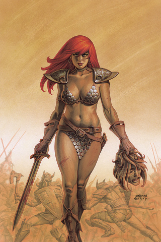 Red Sonja #11 (Linsner Virgin Cover)