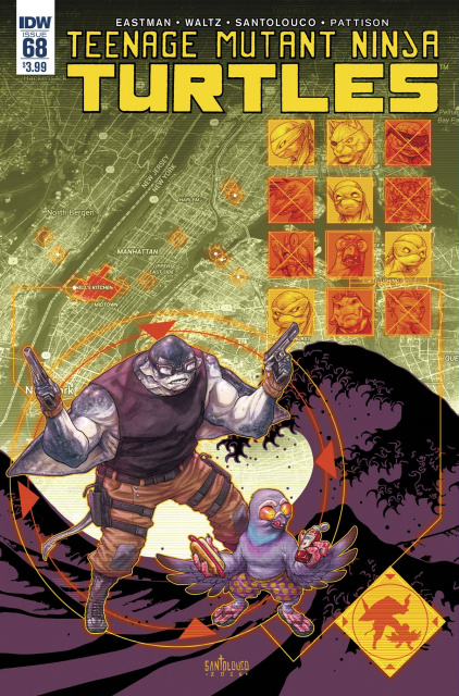 Teenage Mutant Ninja Turtles #68