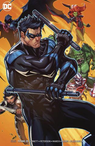 Titans #25 (Variant Cover)
