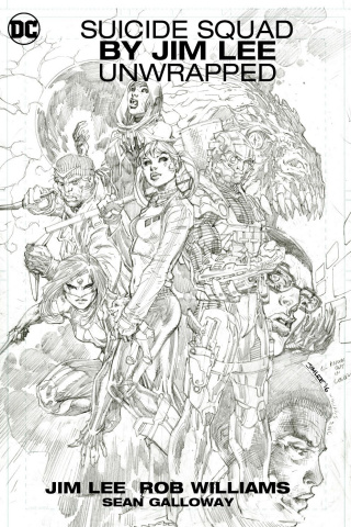 Suicide Squad Unwrapped by Jim Lee
