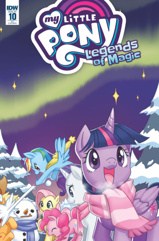 My Little Pony: Legends of Magic #10 (10 Copy Cover)