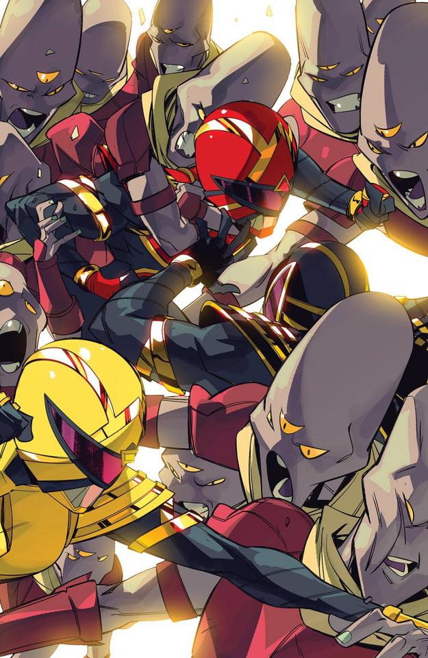 Power Rangers #7 (15 Copy Incv Di Nicuolo Cover)