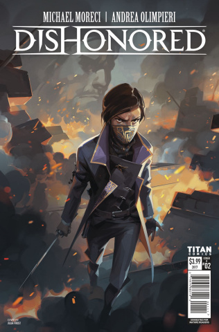 Dishonored: Peeress and the Price #2 (Frost Cover)