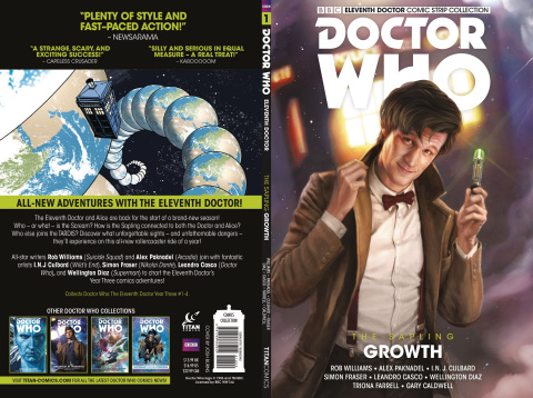 Doctor Who: Eleventh Doctor Comic Strip Collection Vol. 1: Growth