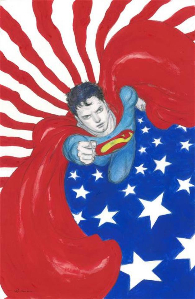 Superman: Red and Blue #1 (Yoshitaka Amano Cover)