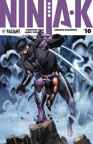 Ninja-K #10 (Stroman Cover)