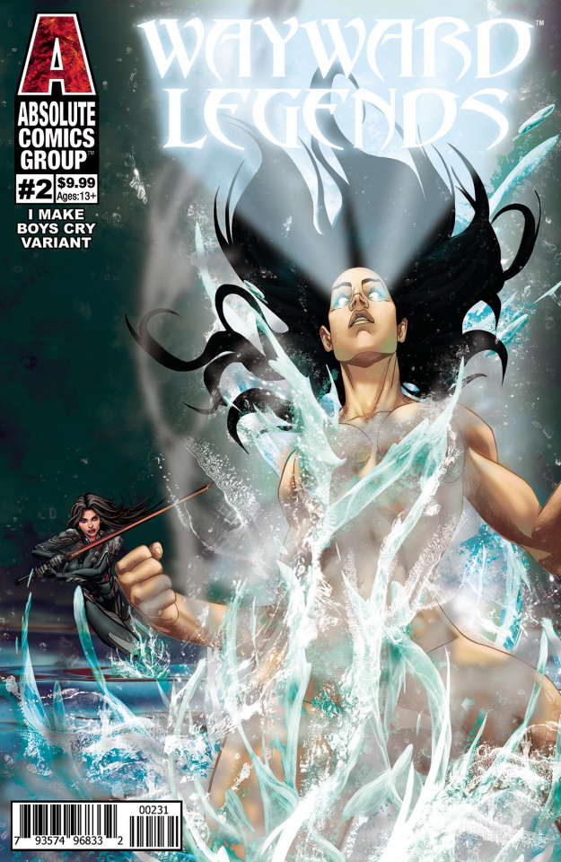 Wayward Legends #2 (Francisco Make Boys Cry Holo Foil Cover)