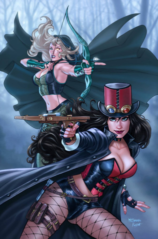 Grimm Fairy Tales: Robyn Hood #13 (Sanapo Cover)