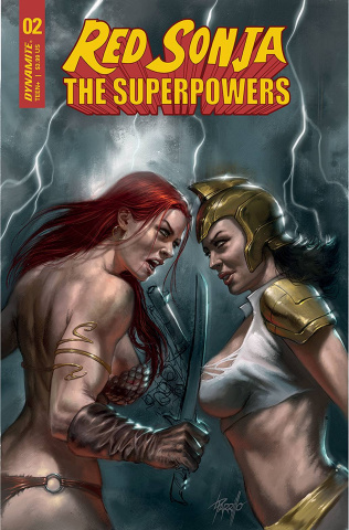 Red Sonja: The Superpowers #2 (Parrillo Cover)