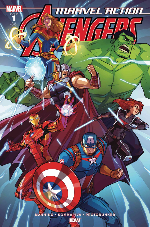 Marvel Action: Avengers #1 (10 Copy Edgar Cover)