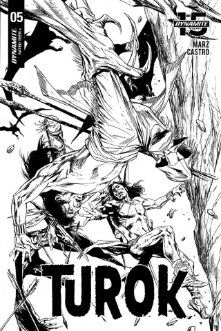 Turok #5 (20 Copy Guice B&W Cover)