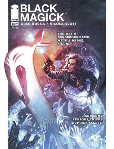 Black Magick #1 (Burchett Magazine Size Cover)