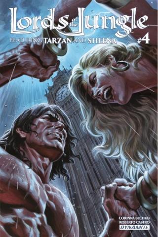 Lords of the Jungle #4 (Massafera Cover)