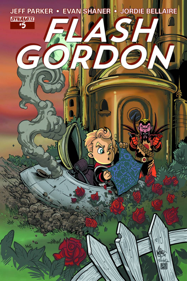 Flash Gordon #5 (Haeser Subscription Cover)