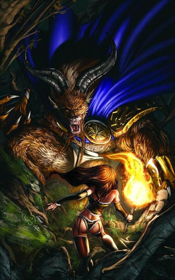 Grimm Fairy Tales: Myths & Legends #13 (Molenaar Cover)