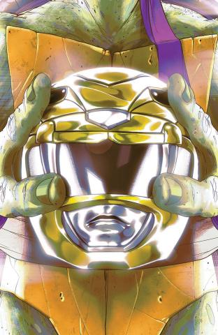 Power Rangers / Teenage Mutant Ninja Turtles #2 (Montes Cover)