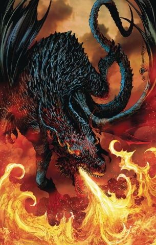 Dragonsblood #1 (Tolibao Cover)