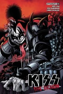 KISS: The Demon #3 (Mandrake Homage Cover)