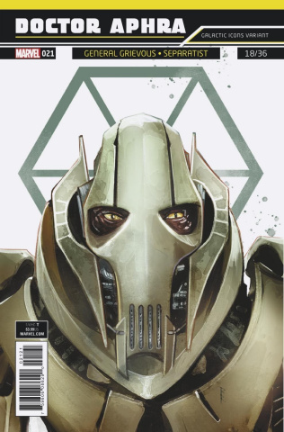 Star Wars: Doctor Aphra #21 (Reis Galactic Icon Cover)