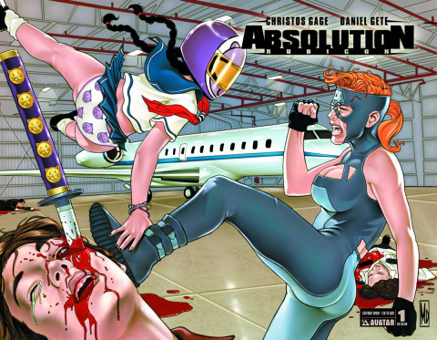Absolution: Rubicon #1 (Catfight Cover)