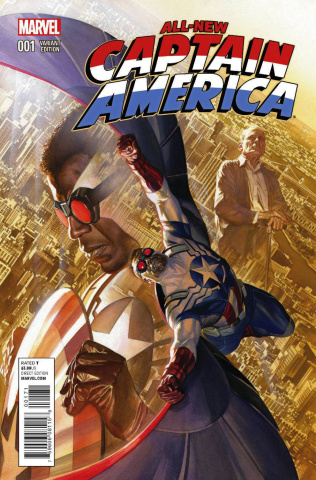 All-New Captain America #1 (Ross Cover)
