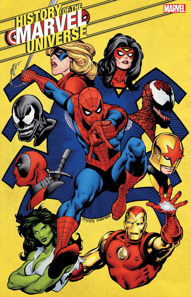 History of the Marvel Universe #4