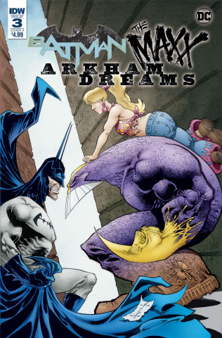 Batman / The Maxx: Arkham Dreams #3 (Kieth Cover)