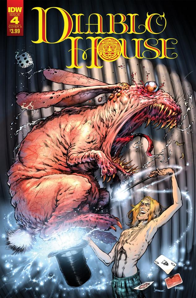 Diablo House #4 (Santiperez Cover)