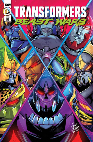 Transformers: Beast Wars #1 (10 Copy Dan Schoening Cover)