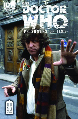 Doctor Who: Prisoners of Time #4 (10 Copy Cover)