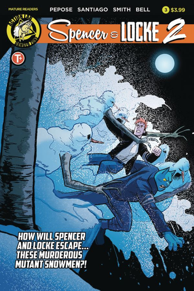 Spencer & Locke 2 #3 (Santiago Cover)