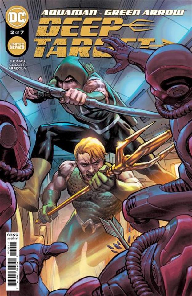 Aquaman / Green Arrow: Deep Target #2 (Marco Santucci Cover)