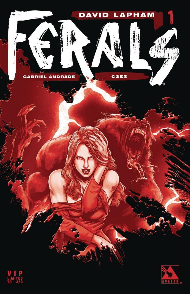 Ferals #1 (C2E2 VIP Cover)