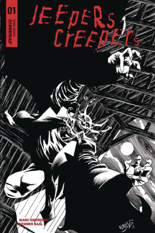 Jeepers Creepers #1 (25 Copy Jones B&W Cover)