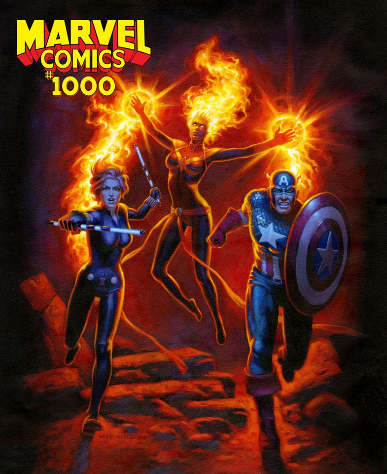 Marvel Comics #1000 (Hildebrandt Cover)