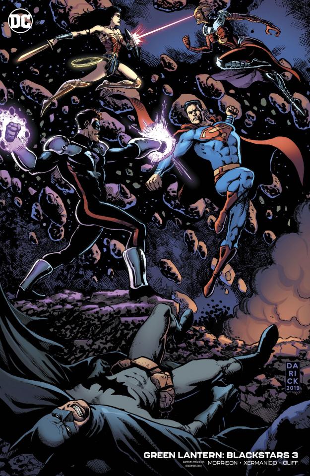 Green Lantern: Blackstars #3 (Variant Cover)