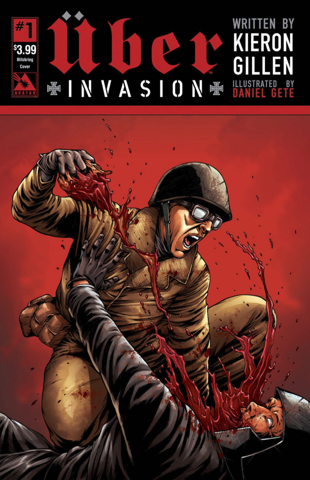 Über: Invasion #1 (Blitzkreig Cover)